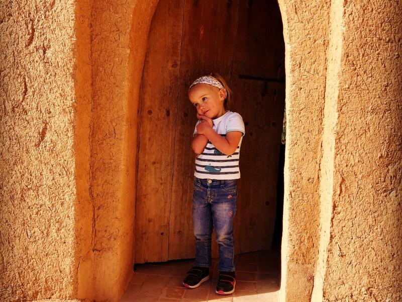 Marokko met een dreumes