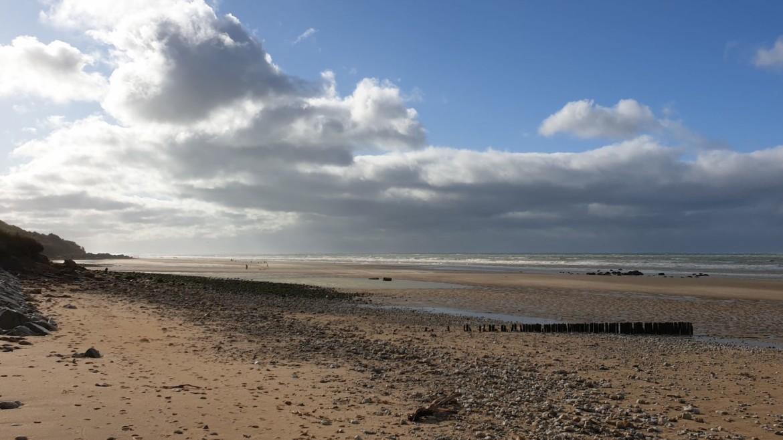 De kust van de 'zwarte koeien' in Normandië