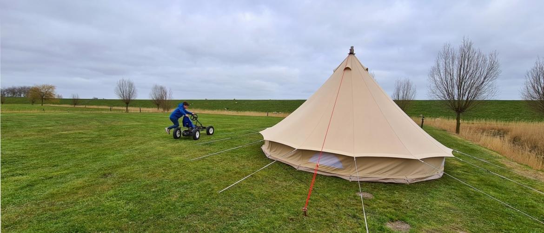 Landal Camping Esonstad, een kampeerpareltje aan het Lauwersmeer