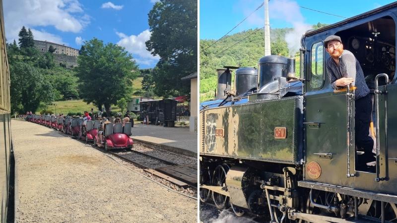 Le Mastrou Train de l'Ardèche
