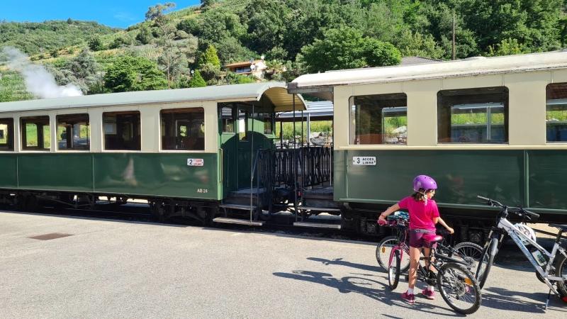 Le Mastrou trein van de Ardeche