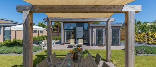 Modern chalet met sauna in Zuid-Limburg