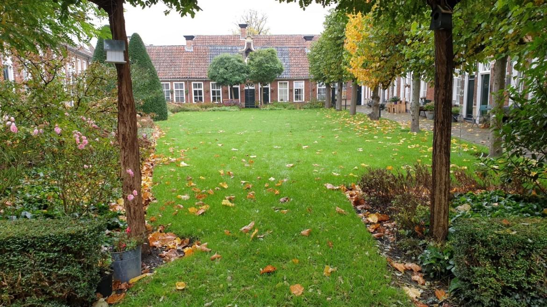 Leuke hofjes in Groningen