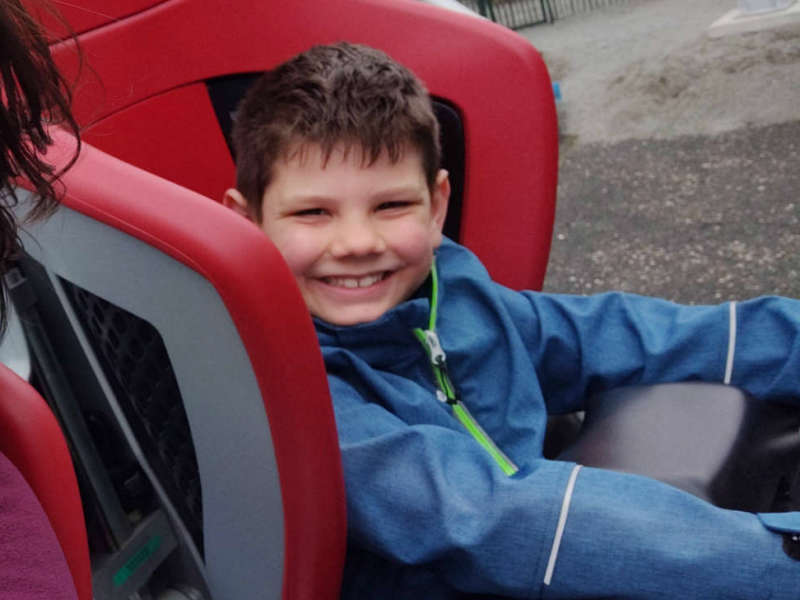 Europa-Park met een 8-jarige