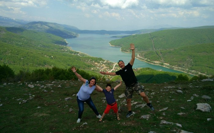 Macedonië met kinderen