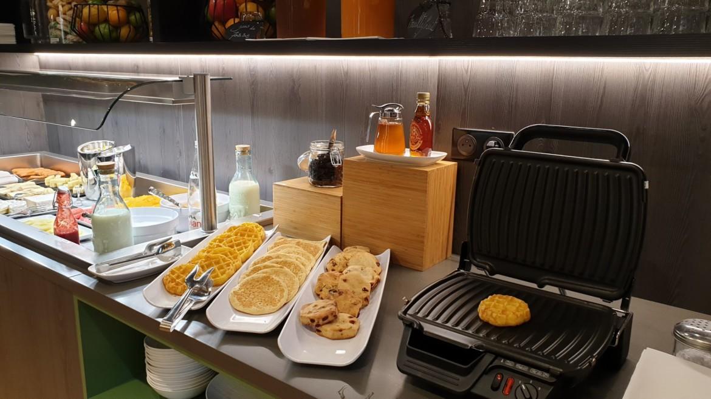 Het ontbijt bij Novotel Deauville Plage is een feestje