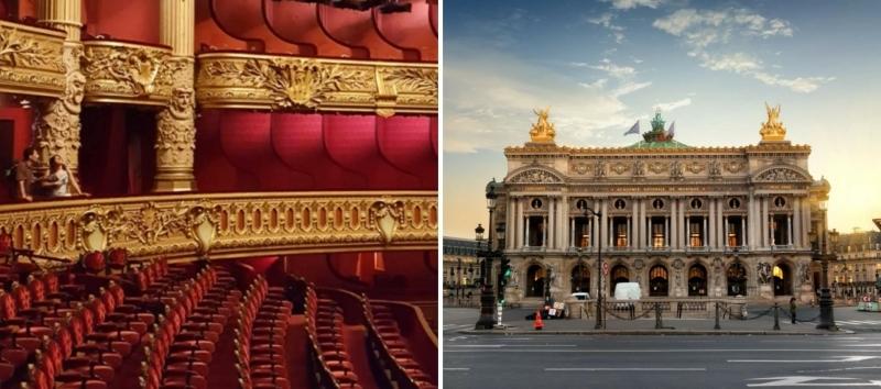 Opera National de Paris met gezin