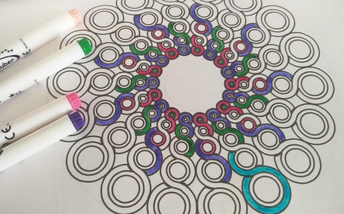 Patronen zentangle