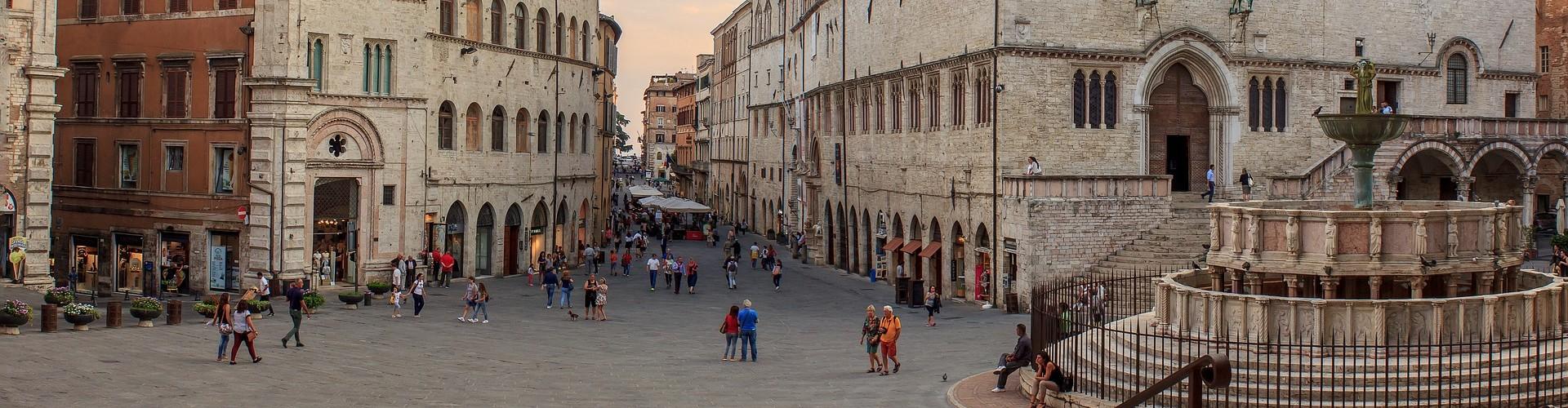 Italiaanse steden met kinderen
