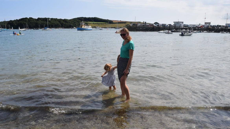 St. Mawes met kinderen in Cornwall