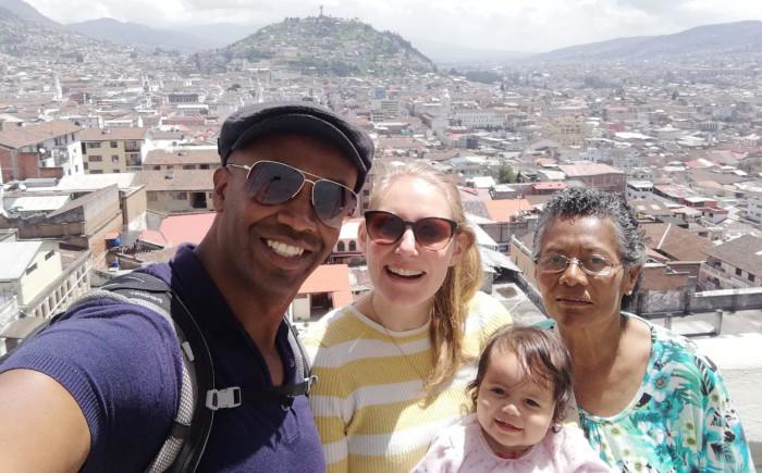 Ecuador met kinderen