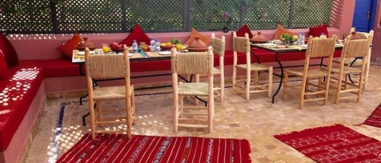 Riad Marrakech met gezin
