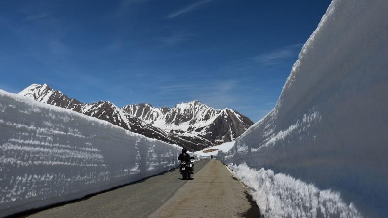 Rijden door de sneeuw