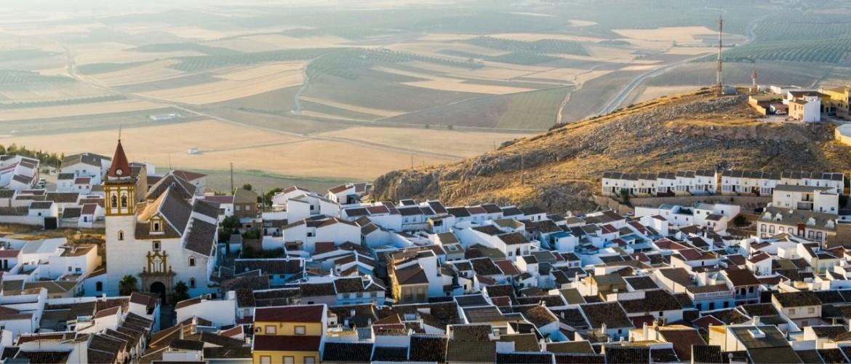 Witte dorpen en Arabische kasteeltorens