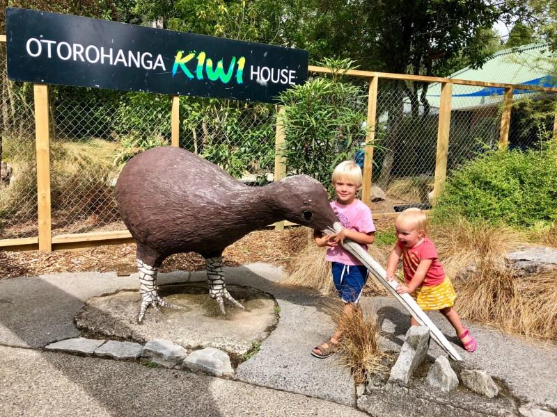 Nieuw-Zeeland met kinderen: Tongariro en Waitomo