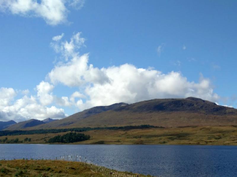 Wandelen met een peuter in Schotland
