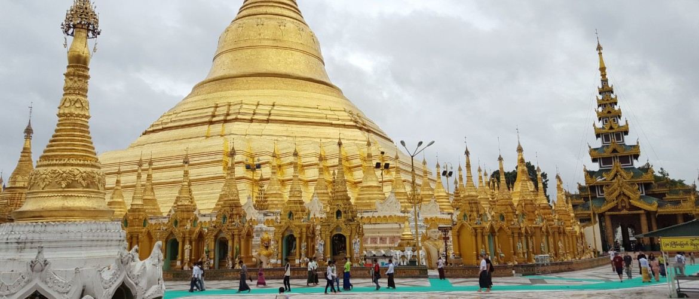 Yangon, de oude hoofdstad van Myanmar