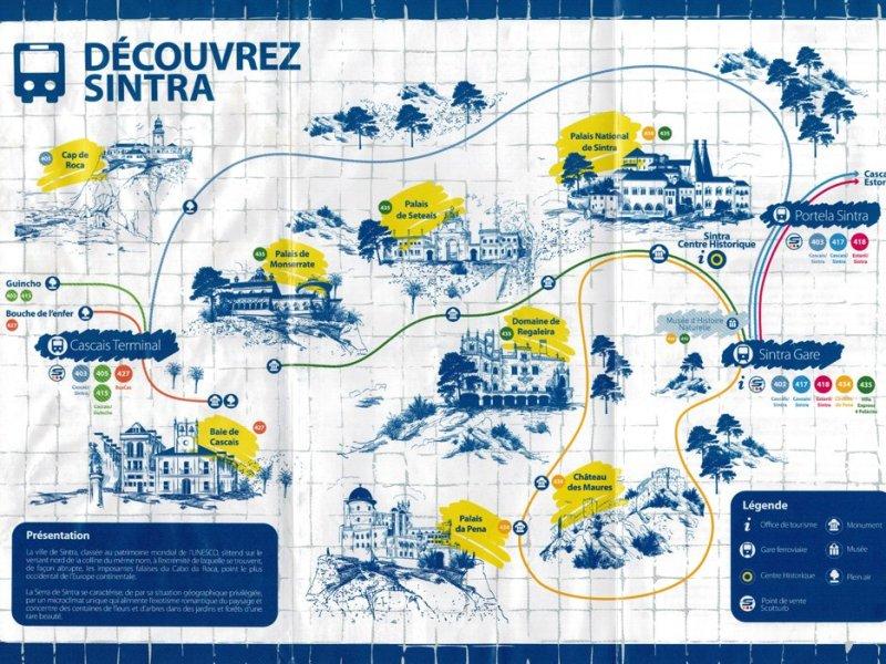 Map van Sintra