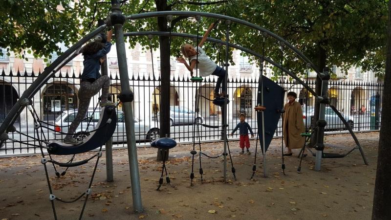 Speeltuin in Parijs