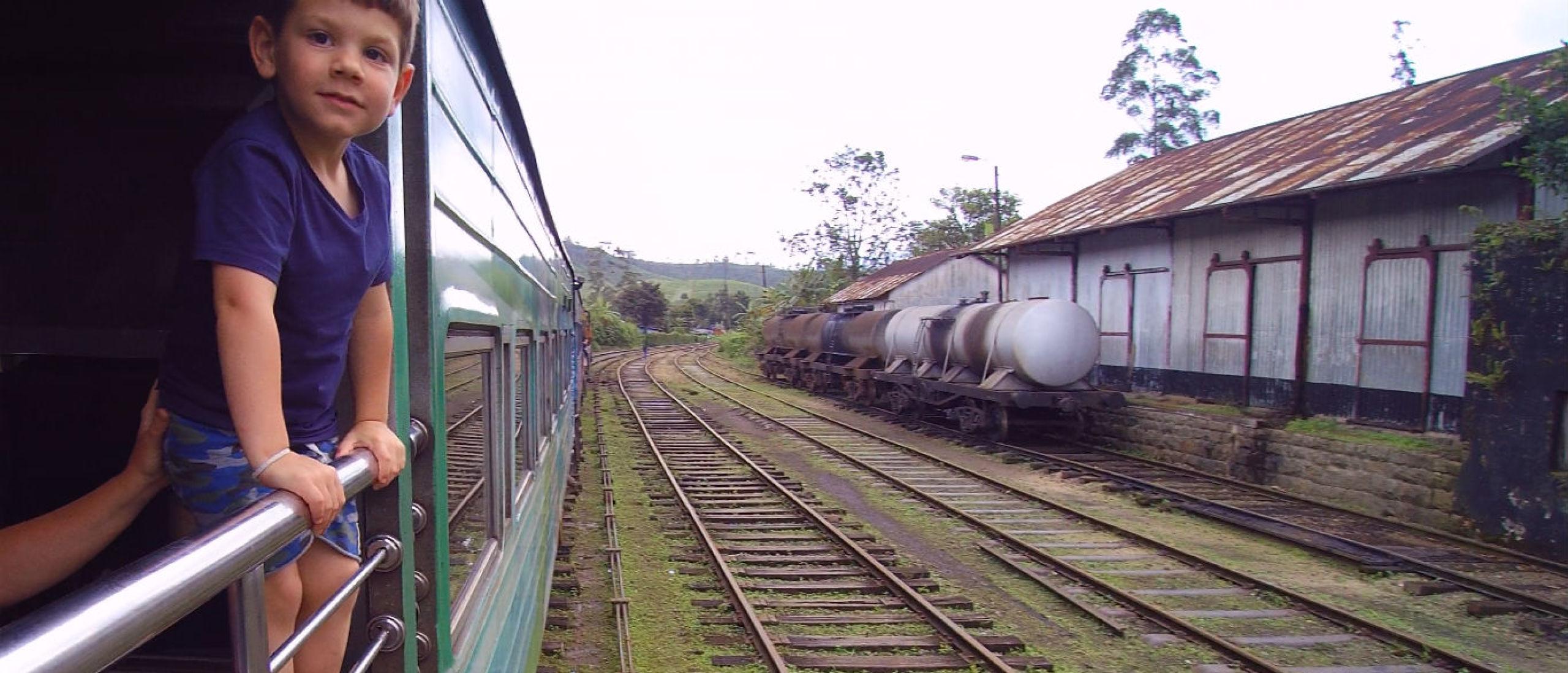 Train fun en op safari in Sri Lanka