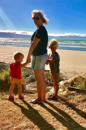 Abel Tasman NP met kinderen