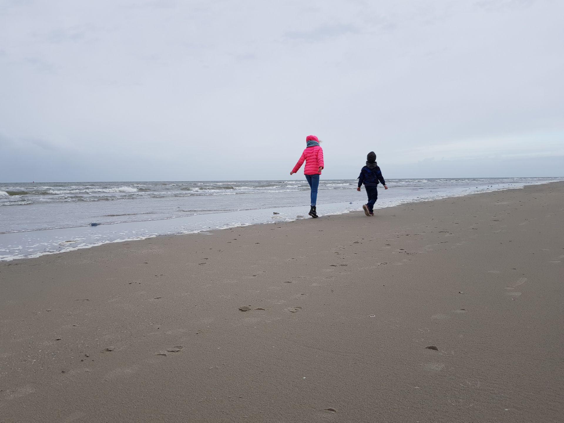 Strand Ameland in de herfst