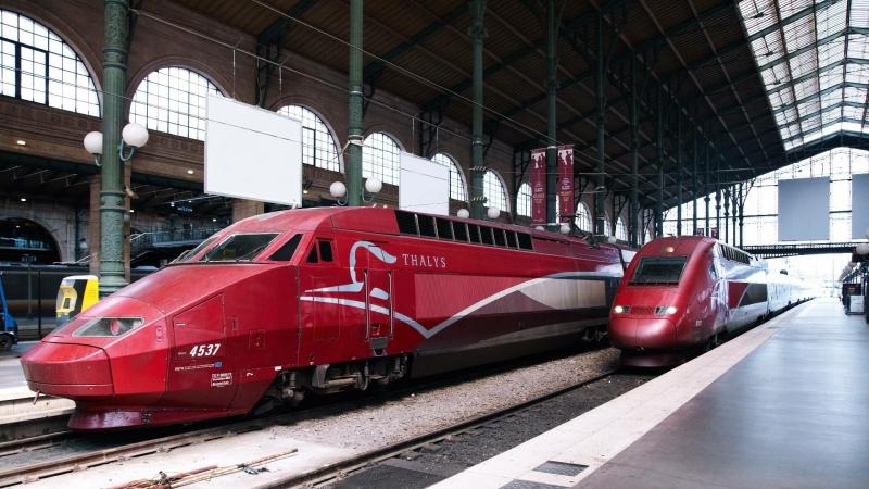 Thalys naar Parijs met kinderen