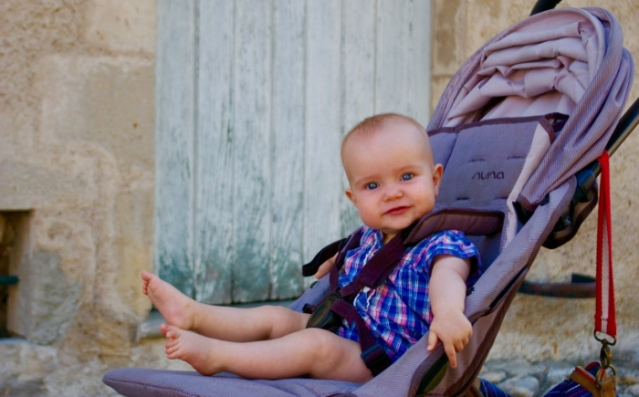 Auvergne met een baby