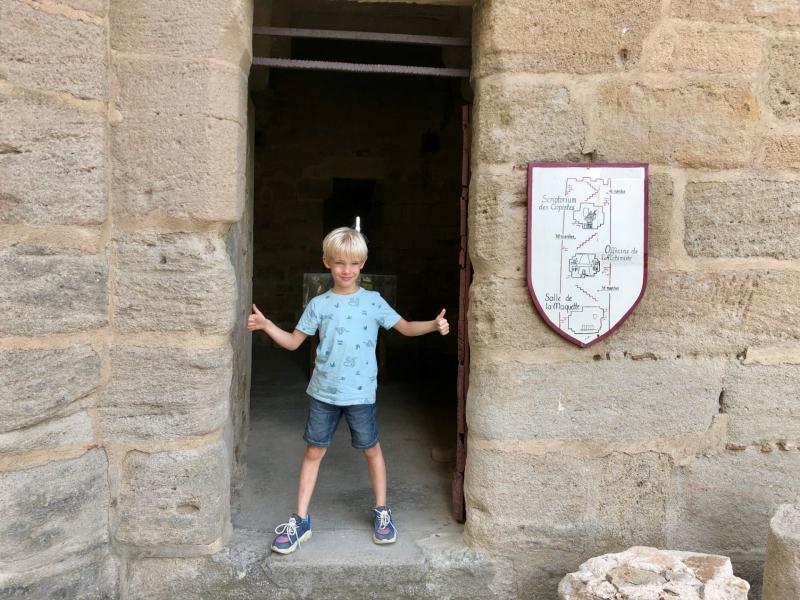 Kastelen in de Auvergne met kinderen