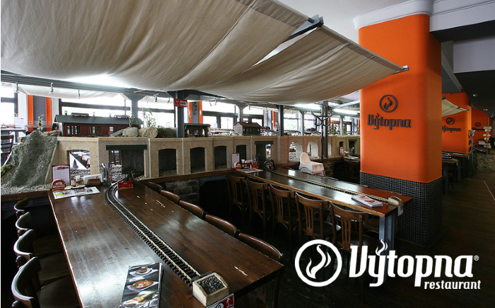 Treinrestaurant Praag Vytopna Railway Restaurant