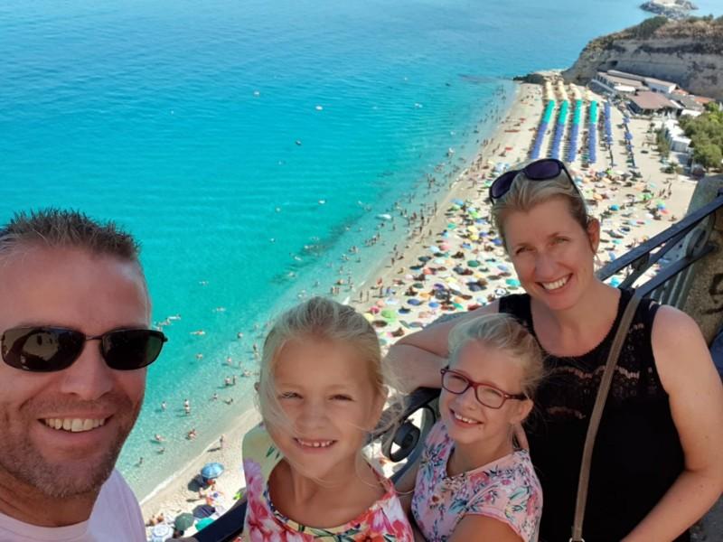 Zuid-Italië met gezin