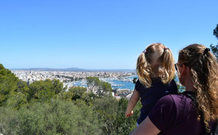 Mallorca met een peuter