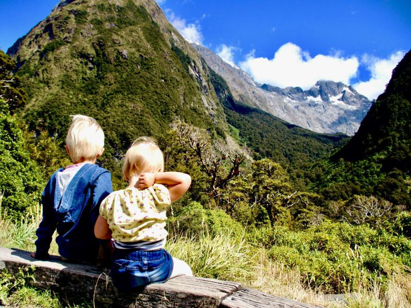 Nieuw-Zeeland met kinderen: Milford Sound