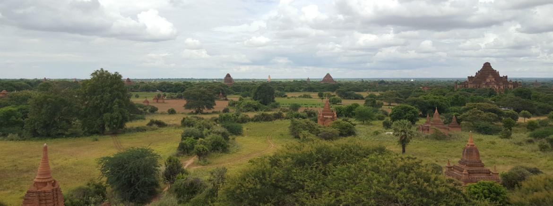 Bagan met kinderen