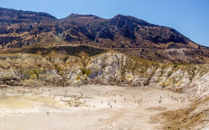 Vulkanen in Griekenland