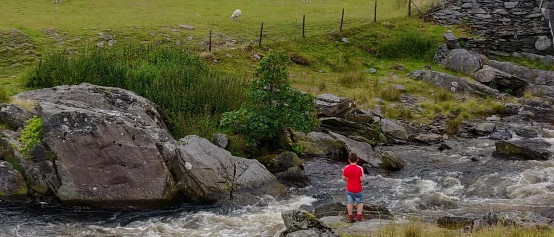 Van Elan Valley via Aberystwyth naar Snowdonia