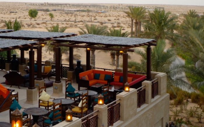 Dakterras van Bab al Shams