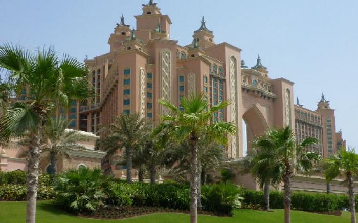 Atlantis Hotel op Palm Jumeirah