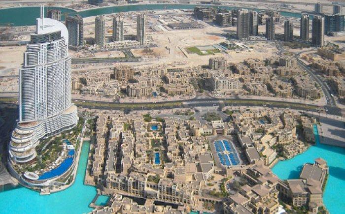 Uitzicht vanaf Burj Khalifa