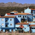 Juzcar smurfendorp Andalusië