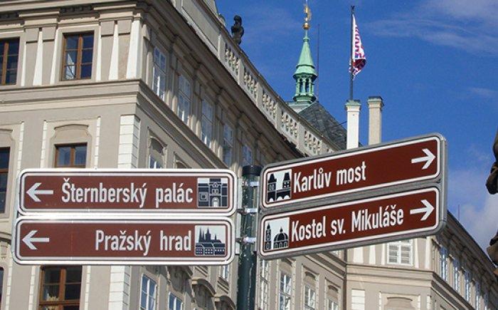 Tour door Praag met tram 22