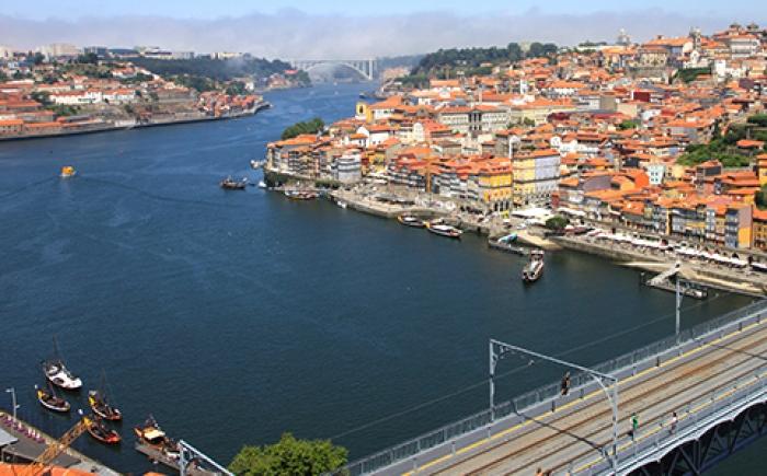 Beste uitzicht over Porto