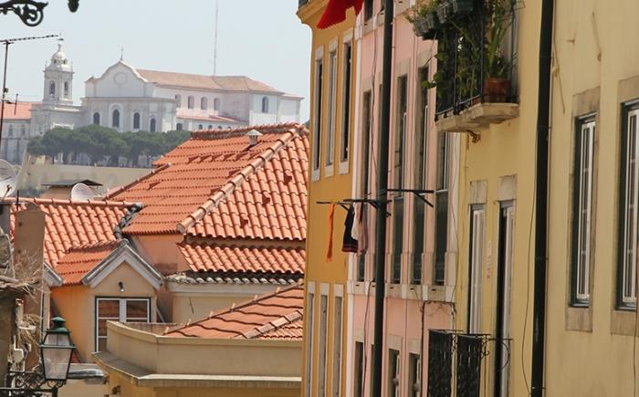 Leuke straatjes in Lissabon