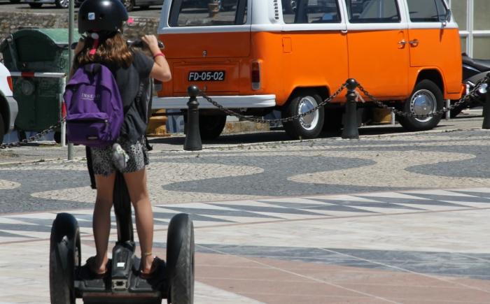 Segway Lissabon met kinderen