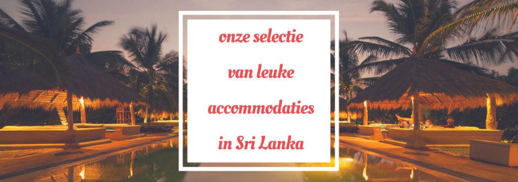 Leuke accommodaties in Sri Lanka met kinderen