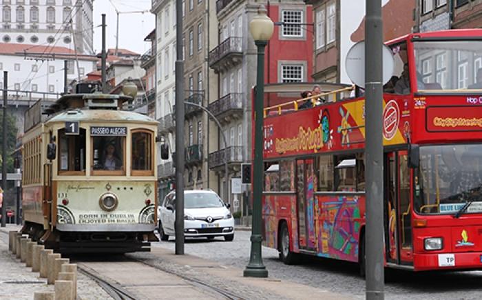 Oude STCP tram Porto