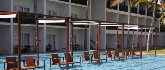 Luxe hotel in Negombo met kinderen