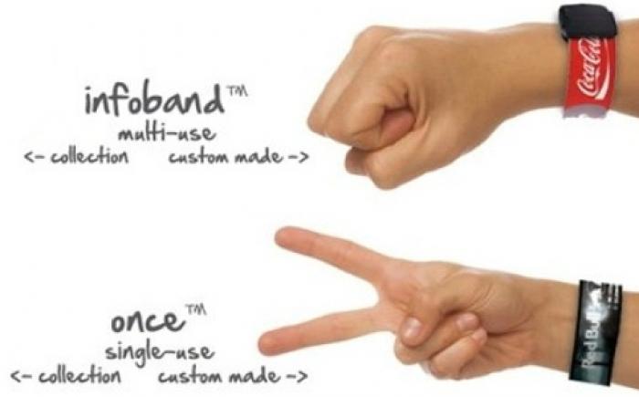 SOS armband / vakantie polsbandje