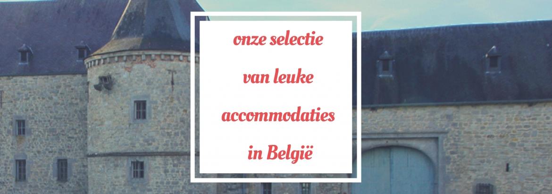 Leuke accommodaties in België