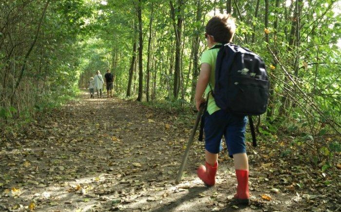 Wandelen in Friesland met een kind